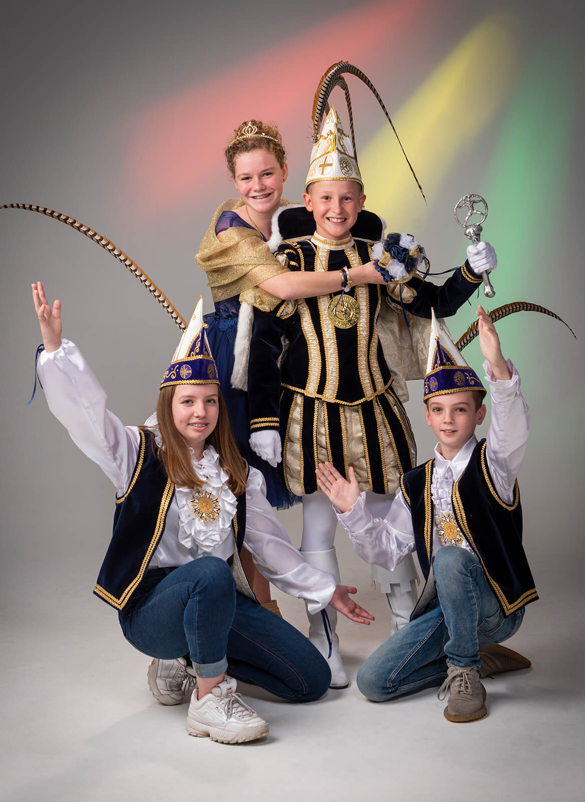 Daan Rijckx & Fenne Sniekers Jeugdprins en Jeugdprinses VV De Gangmaekers