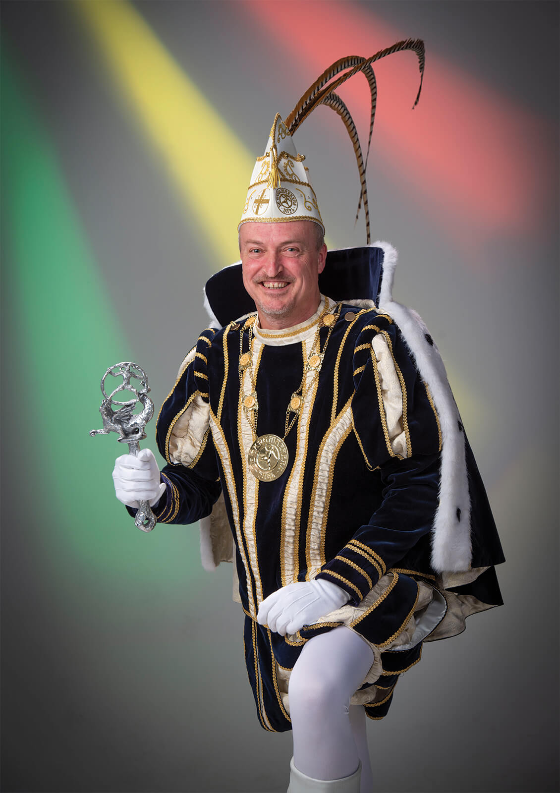 Eric I Philippens 54ste prins van VV de Gangmaekers